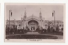 Franco British Exhibition, The Machinery Hall Rotary RP Postcard, A562