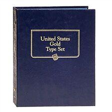 Whitman Classic Coin Album 9170 US GOLD TYPE SET