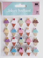 Jolee's Boutique Pegatinas-Ice Cream se repite
