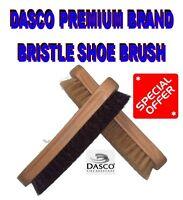 DASCO BRISTLE BRUSH LIKE HORSEHAIR PURE WOOD SHOE BOOT POLISH BRUSH LARGE