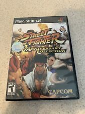 Street Fighter Anniversary Collection complete (Sony PlayStation 2, 2004)