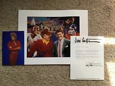 Joni Carter Super Bowl XXII Print With Letter From Artist