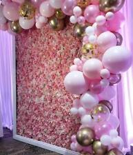 Beautiful Pinks, Chrome Gold & Gold Confetti DIY Balloon Garland Kit Decorations