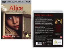 ALICE (1988) IN WONDERLAND: Jan Svankmajer - NEW BLU-RAY + Rg2 DVD Set