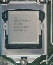 Intel Core i7-6700 Socket LGA 1151 3.4GHz SR2L2 8MB Quad Core CPU Processor
