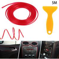 Auto Accessories Car Gap Decorative Line Mouldings Trim Strips Interior Styling