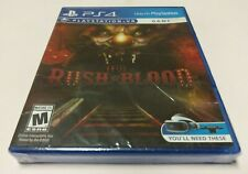 Until Dawn: Rush of Blood (Sony PlayStation 4, 2016) PS4 NEW