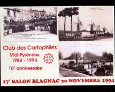 BLAGNAC (31) MOULIN à VENT , CANAL DU MIDI / 17° Salon de BLAGNAC en 1994