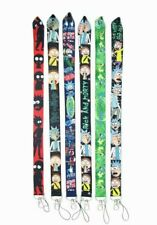Rick and Morty Lanyard Keychain ID Phone Holder 6 Styles Available USA New