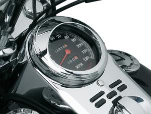"Kuryakyn /""The Informer/"" LED Fuel and Battery Gauge   Harley-Davidson  FLH 94-17"