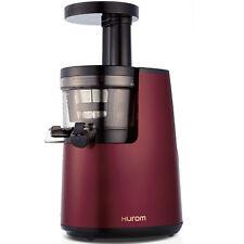 HUROM Entsafter HG 2 Generation Edelstahl slow juicer 40 U/min BPA Frei WEINROT