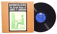 JAMES P JOHNSON Backwater Blues THE STRIDE PIANO LP RIVERSIDE RECORDS RLP151 NM-