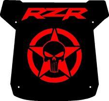 POLARIS RZR XP1K PUNISHER ROOF ARMY DIE CUT VINYL DECAL STICKER