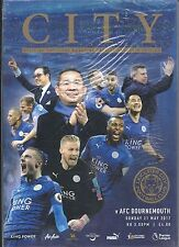 LEICESTER CITY v AFC BOURNEMOUTH 21.05.17 PREMIER LEAGUE IN SEALED BAG