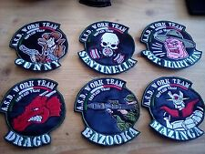 Toppa Patch Stemma softair AIRSOFT TEAM PERSONALIZZATA NOVITA' asd figt fisa