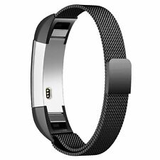 Fitbit Alta and Alta HR Milanese Stainless Replacement Band (Black)