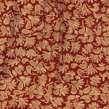 Red Embroidered  Woolen Shawl