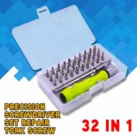 32 in 1 Precision Screwdriver Set Repair Torx Screw Driver Phone Laptop Tool JY