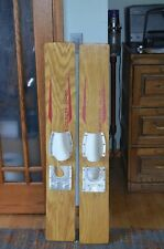 Vintage Wood Chief Products Trick Waterskis