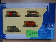 Tillig TT  Art 01332  Behälterwagen-Set t    Neuware
