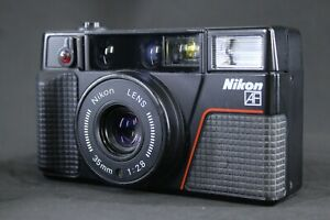 *Exc+4 / Works * Nikon L35 AF2 mit 35 mm 1:2.8 Film Camera from Japan