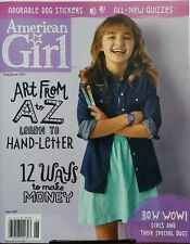 American Girl May Jun 2017 Art From A to Z Learn to Hand Letter FREE SHIPPING sb