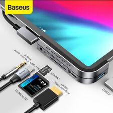 Type C Usb 3.0 Hub Hdmi 3.5mm Jack Pd Port Splitter Adapter for MacBook Pro iPad
