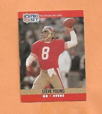 STEVE YOUNG   PRO SET 1990  CARD # 645