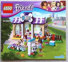 Lego Bauanleitung für Friends Heartlake Puppy Daycare 41124 Neu