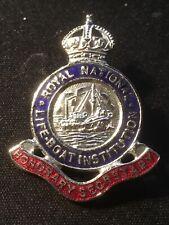 More details for royal national lifeboat institution rnli enamel pin badge hon secretary free p+p