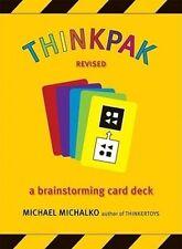 NEW Thinkpak: A Brainstorming Card Deck by Michael Michalko