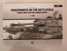 Panzerwaffe on the Battlefield - WW2 Photobook Series Vol. 3 - 105 BW photos