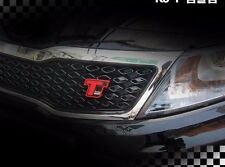 For 2011 ~  Kia Optima  K5 Front Grill Tuning T Red Point TGDI Emblem