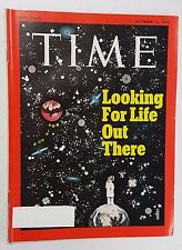 Time Magazine December 13 1971 Looking For Life Out There - English - Weekly