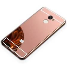 Miroir / Miroir Pare-Chocs en Aluminium Rose pour Xiaomi Redmi 5 Plus Étui