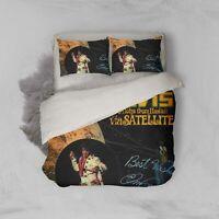 3D Elvis Presley Quilt Cover Duvet Cover Comforter Cover Single/Queen/King 1