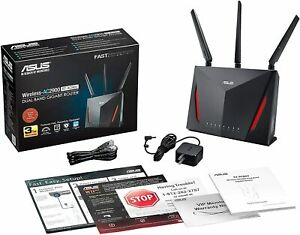 ASUS RT-AC86U Wireless Router WiFi AC2900 AI Mesh USB 3.0 AiProtection Processor