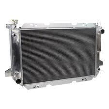 For Ford F250 F150 F350 Bronco 5.0L 5.8L V8 1985-92 93 94 95 1996 3Row Radiator