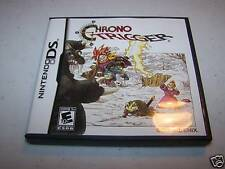 Chrono Trigger Nintendo DS Lite DSi XL 3DS 2DS w/Case, Manual & Poster