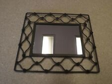 """Distressed Style Wall Mirror Rectangular 8 3/4"""" T X 10"""" Wide"""