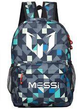 Lionel Messi Logo Barcelona 10 Bag Casual Laptop Backpack Schoolbag Sack