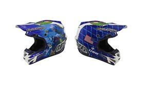 Troy Lee Designs SE4 Composite Malcolm Smith Helmet Motocross MX ATV UTV TLD