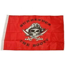 Small 12 Inch X 20 Inch Replacement Flag For Whip Antenna Surrender The Booty Wi