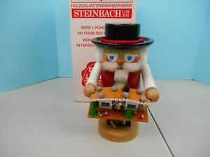 STEINBACH  Nutcracker Chubby Troll Black Forester Cuckoo Clock Maker  Nutcracker