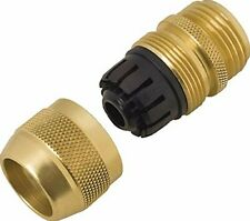 "Melnor 9002 Metal Hose Repair  5/8"" Deluxe Male, Brass"