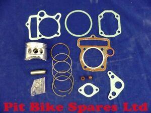 Top End Repair Kit For YX140, Piston Kit, Gaskets & Valve Stem Oil Seals.