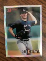 1998 Bowman Chrome Reprint Refractor #37 Andy Pettitte New York Yankees NrMt