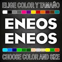 Vinilo adhesivo ENEOS, 2 unidades, pegatina, aufkleber, logo, moto, car, decal.