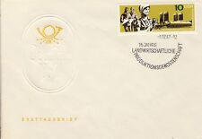 Ersttagsbrief DDR MiNr. 1332, 15 Jahre Landwirtschaftliche Produktionsgenossensc