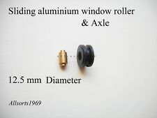Sliding Aluminium window roller wheel with axle Doric DR11 ( one )